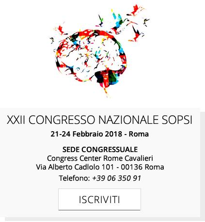 Registrazione al XXII Congresso Nazionale SOPSI